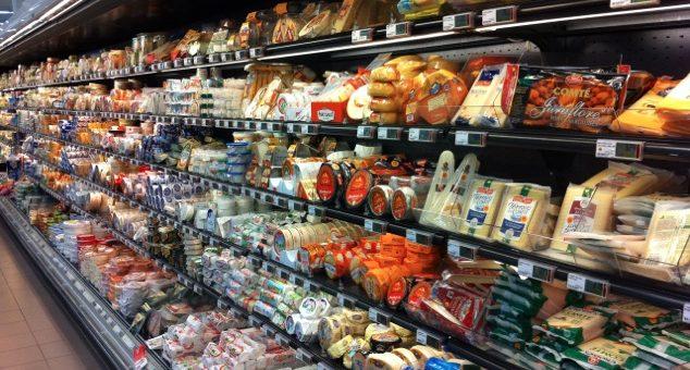 Industrial foods in France