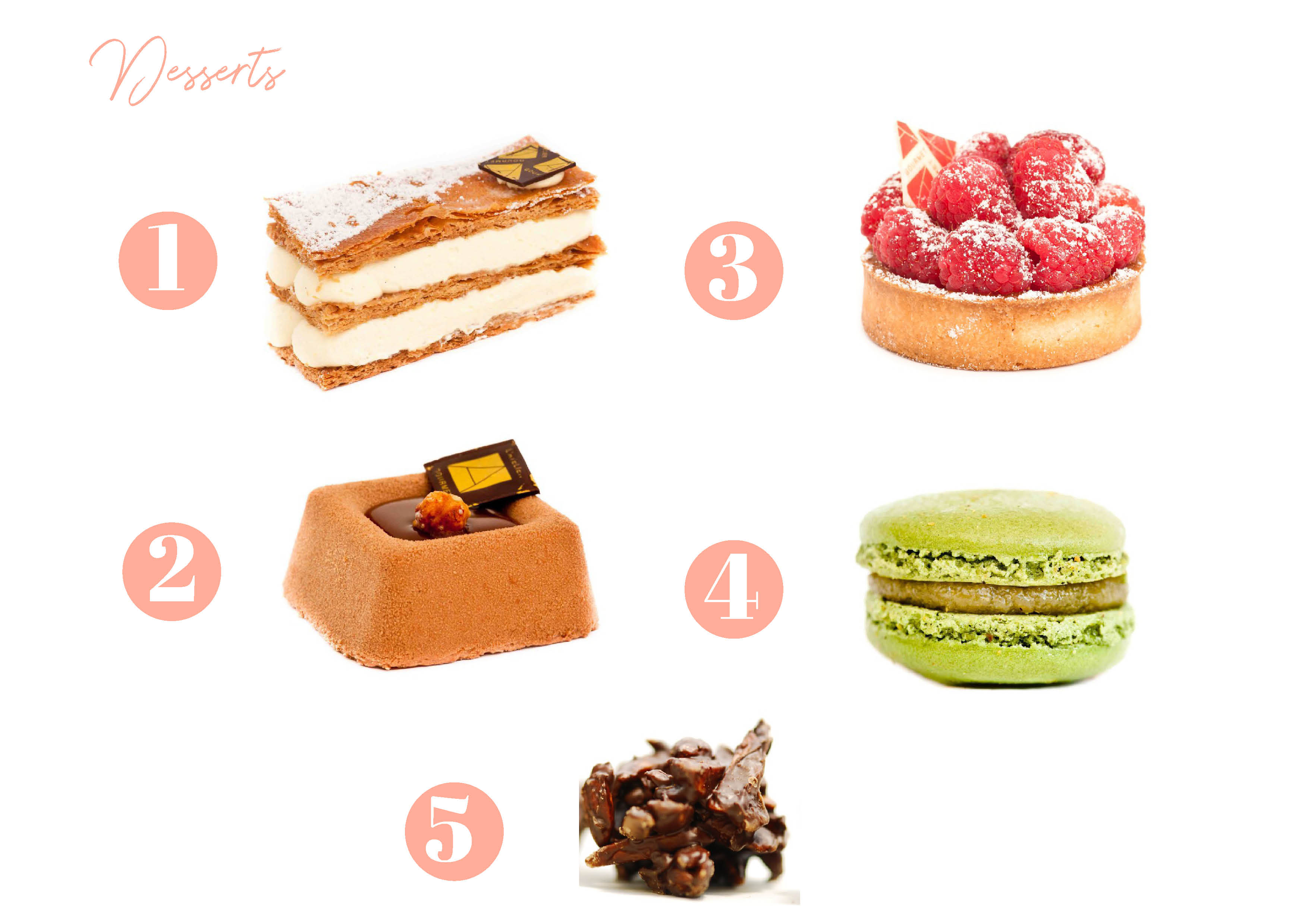 How to host a french apéro - The dessert - French Apero food French Bakery in Miami, French restaurant miami, French food miami, café miami, coffee shop miami, catering miami, dadeland, pinecrest, brickell, south beach, miami beach, millefeuille, raspberry tart, carré crunchy, hazelnut cake, macaron, macarons, macaroons, macaroon, french macarons, parisian macarons, chocolates, chocolate truffle, belgian chocolates