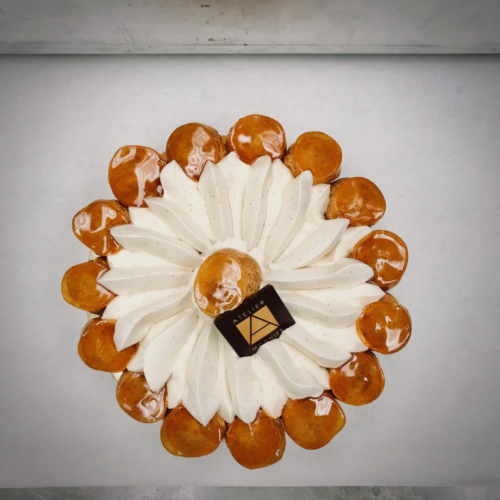 Saint Honore cake french Pastry Atelier Monnier